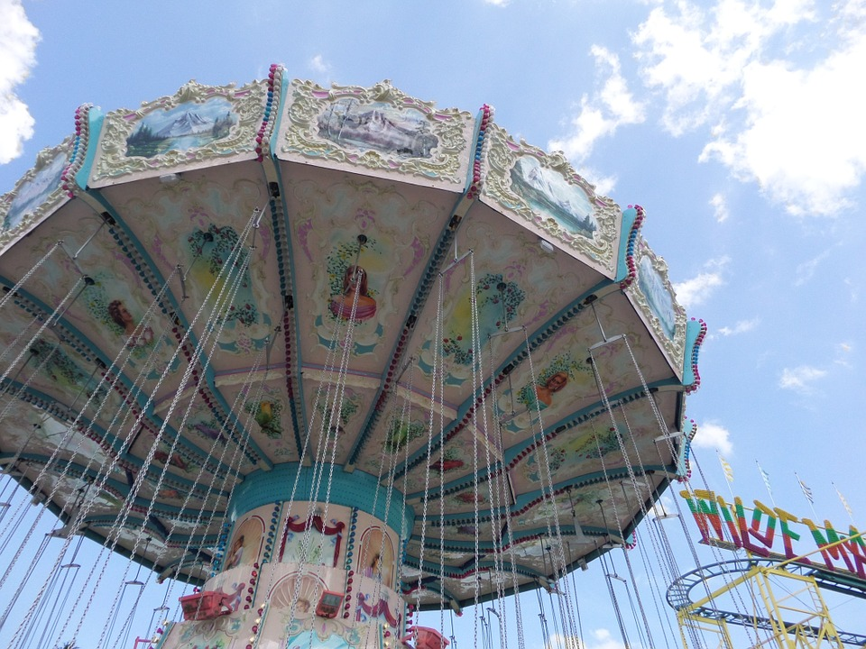 fun summer time funfair