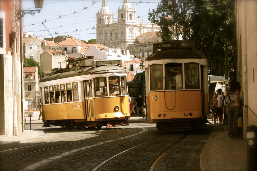 portugal lisbon trams