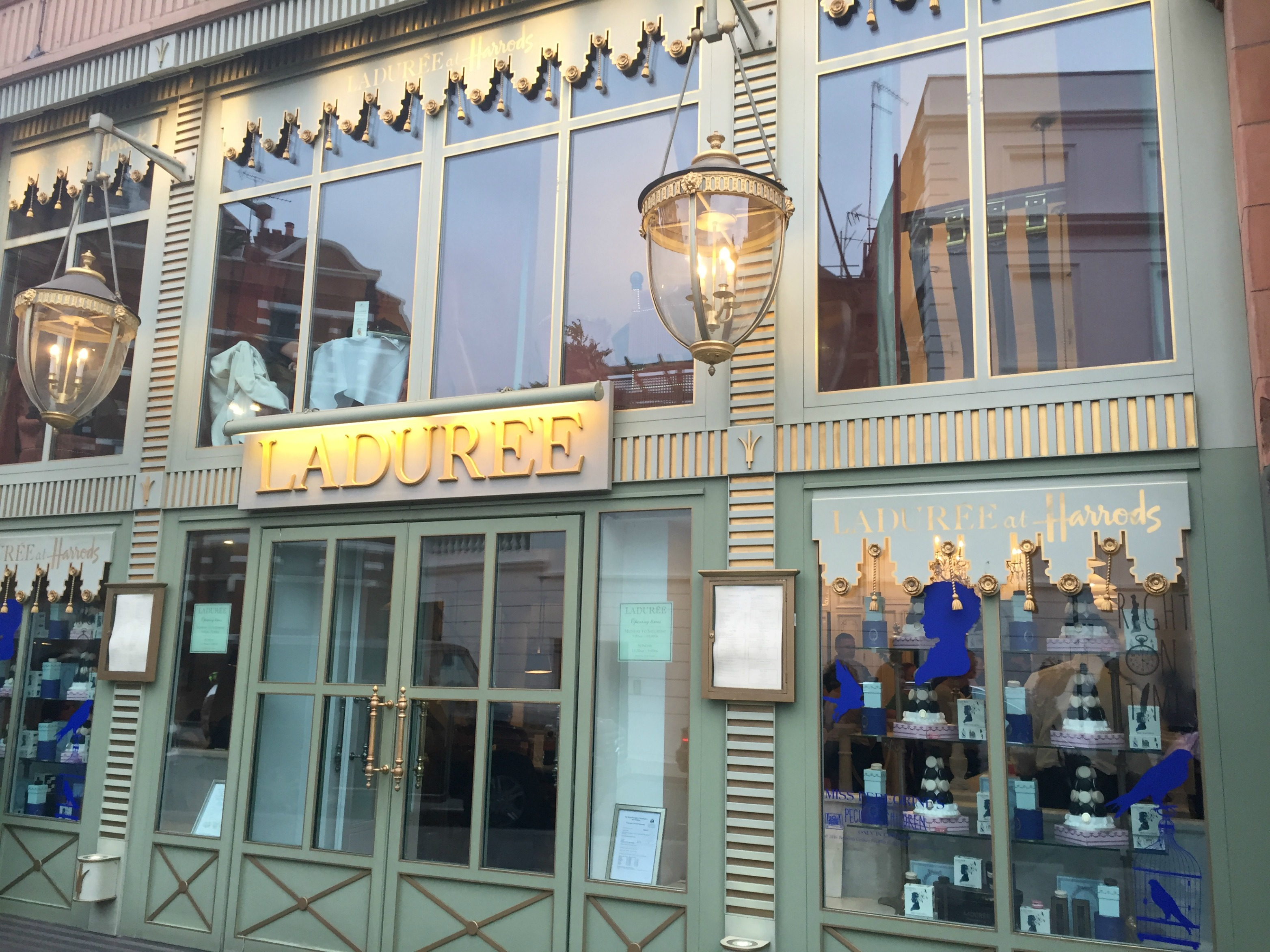 London Travel Diary Laduree Harrods