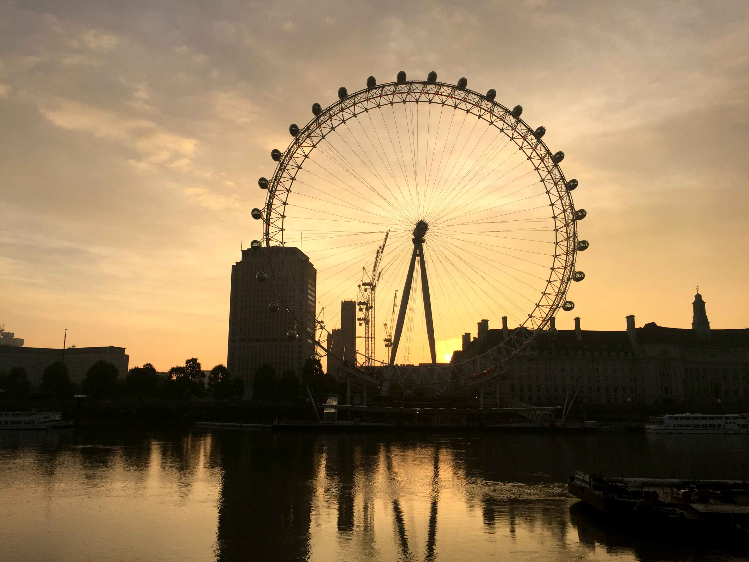 London Travel Diary london eye
