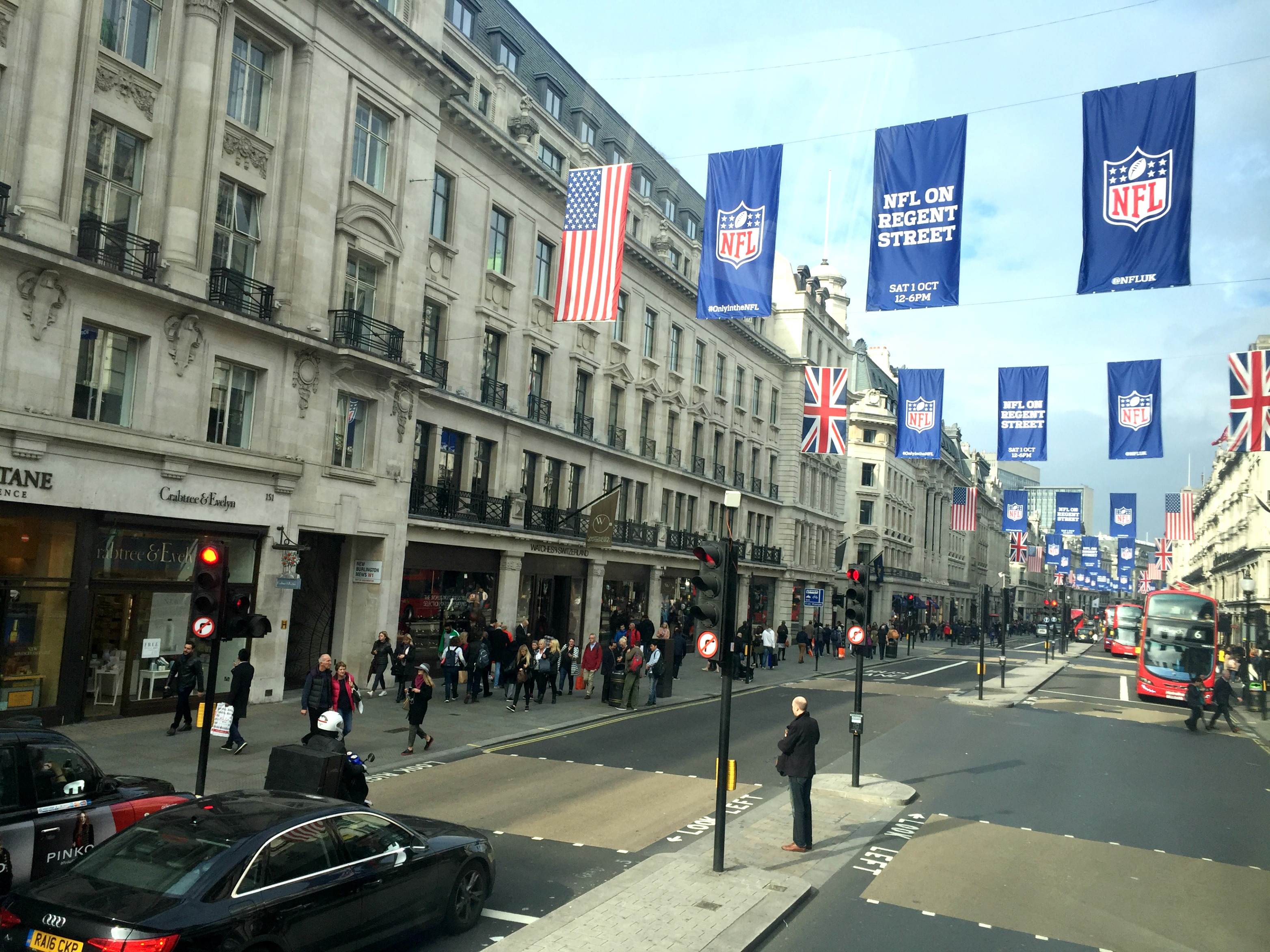 London Travel Diary regent street