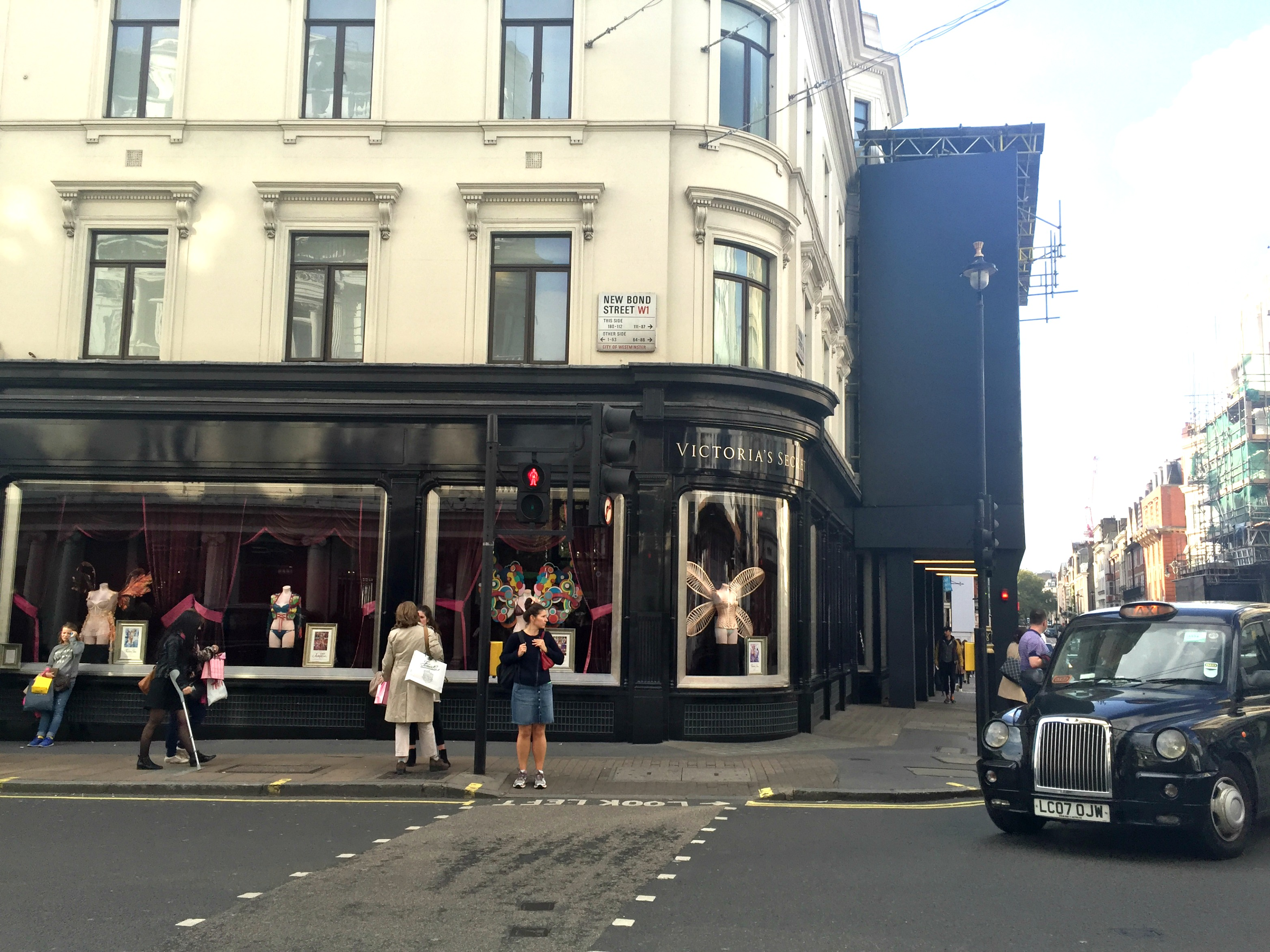 London Travel Diary Victoria's Secret