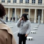 Faux Fur Outfit in Paris