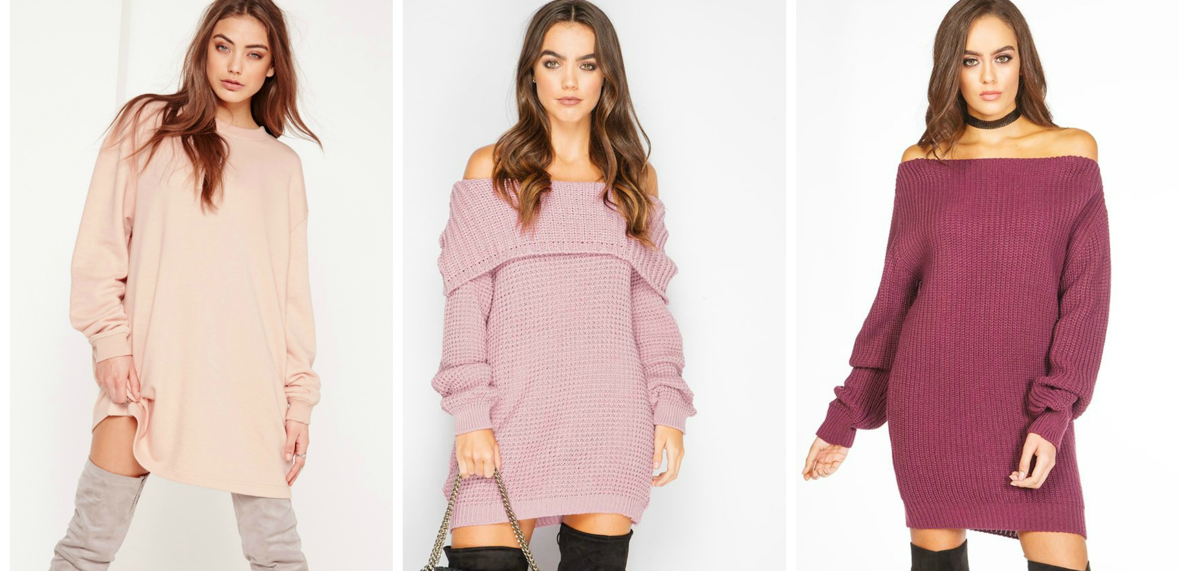 winter fashion essentials jumper dress