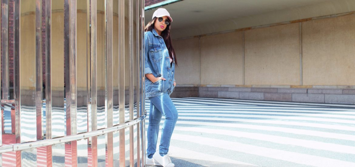 denim jacket Primark all denim spring outfit