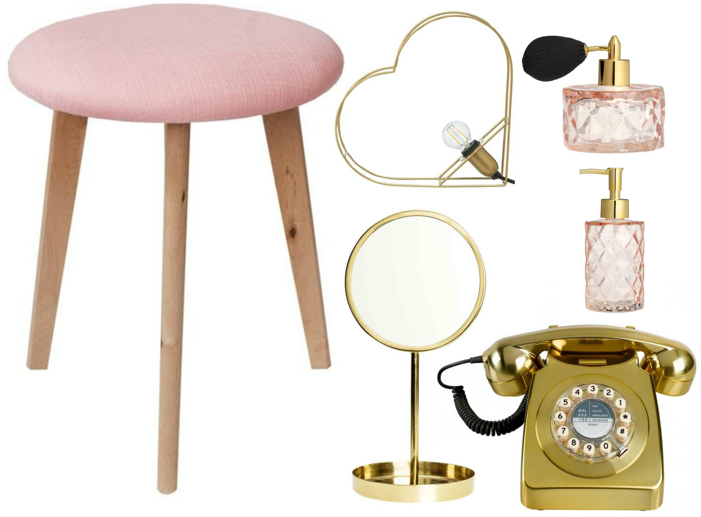 girly home decor wishlist