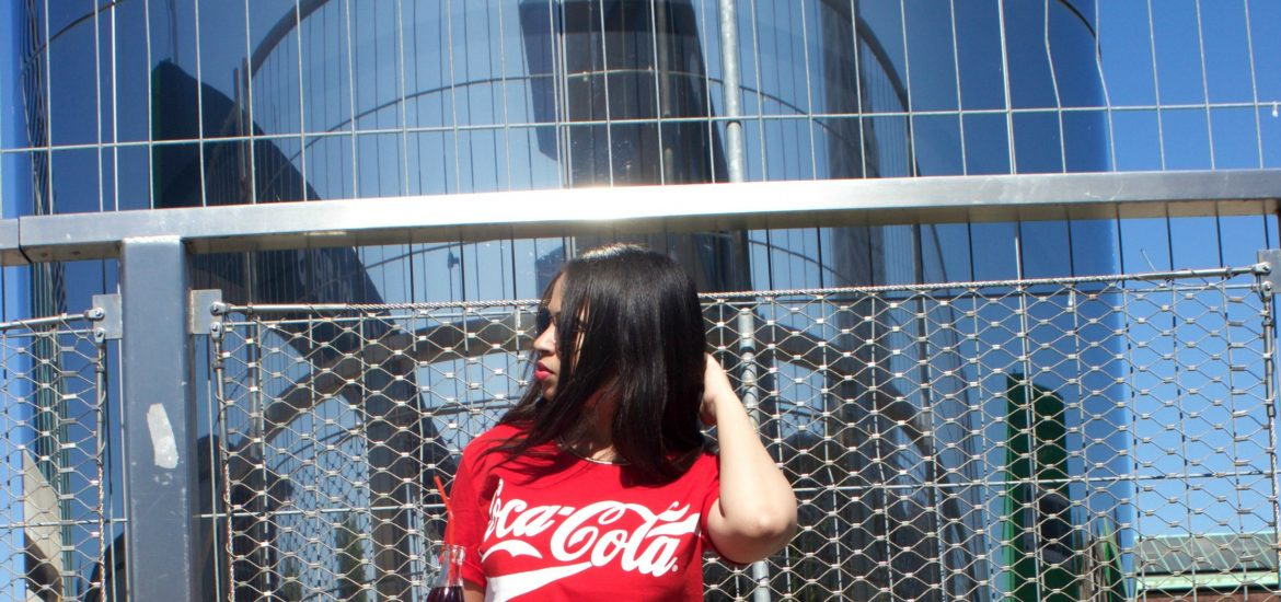 coca-cola shirt Cool Cat